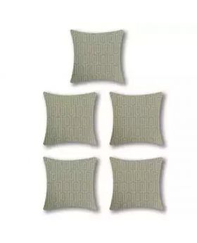 Five Pieces Cushion & Cover Set(Grey)