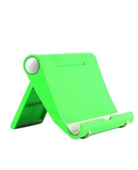 Universal Multi-angle Adjustable Desk Stand Holder for Tablet or Mobile Phone -Green