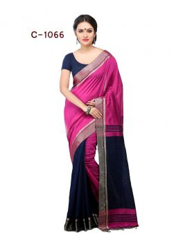Tangail Silk Saree for Women (Multi-Colour)