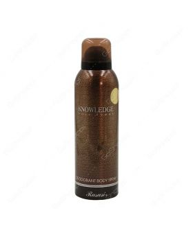 Rasasi Knowledge Pour Homme Deodorant Body Spray