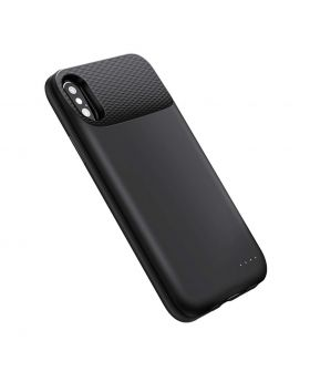 iPhone X Battery CaseBlack with wireless charging treasure