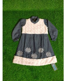 Girls new winter frock