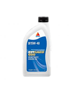 Citgo Citgard 600 Multi-Viscosity Engine Oils SAE 15W-40 1 Quart