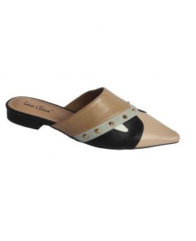 Ladies Closed Flat Synthetic Style 4