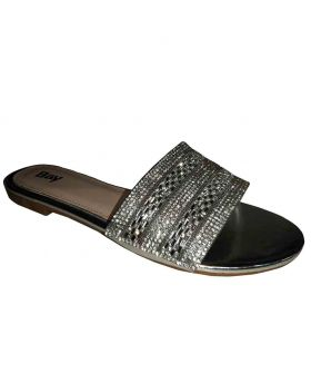Ladies Open Flats Synthetic Upper material 195611880