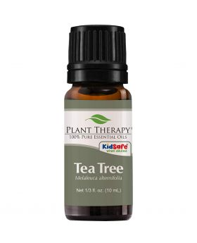 100% Pure Natural Plant Flowers Pure Essential Tea Tree Oil - 10ml