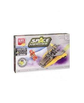 Block Tech Space Heroes Toy