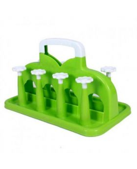 Plastic Glass Stand - Green