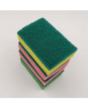 3 Layers Cleaning Sponge 12 PCS Pack