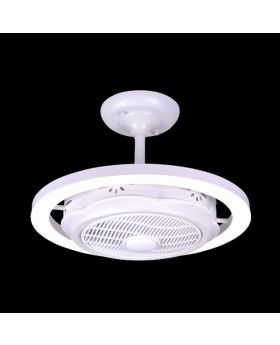 Indoor Modern fan light CELL004B-white