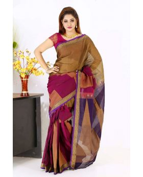 Maslice Multi Cotton Saree