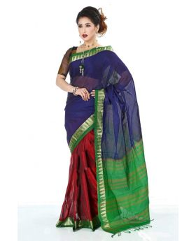 Multi Maslice Cotton Saree