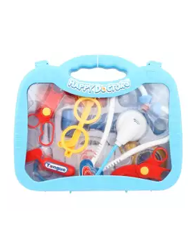 Doctor Toy Set for Kids - Baby Blue