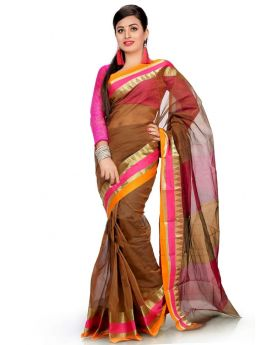 Tangail Silk Saree Multi