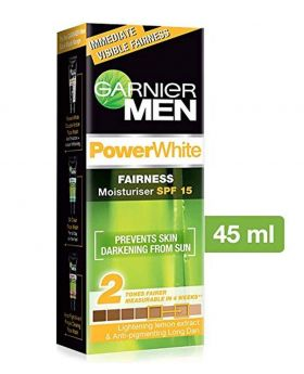 Garnier Men Power White Fairness Moisturiser SPF 15, 45g (India)