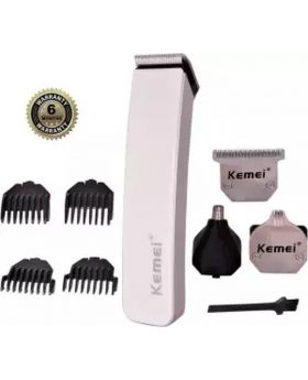 Kemei KM-3580 4 in 1 Electric Hair Clipper - White
