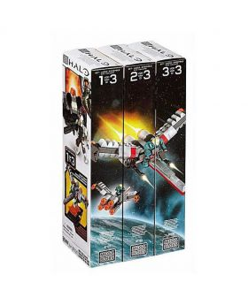 Mega Blocks Halo Build and Collect (3 Set)