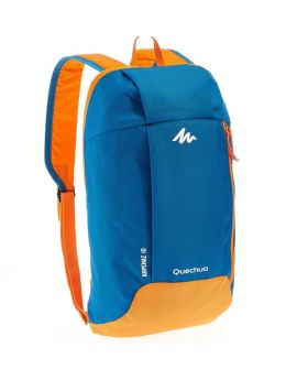 Quechua 10L Hiking Bacpack (Yellow & Blue)