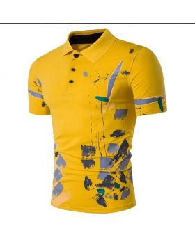 Mens Multi Color Polo Shirt
