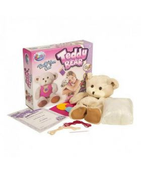 Build Your Own Teddy Bear Toy Kit - Brown