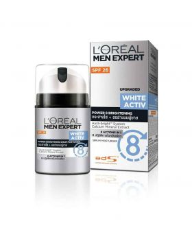 L'Oreal Paris Men Expert White Active Whitening Moisturing Fluid, 50 ml (Germany)