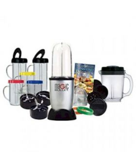 Hi-Speed Blender/Mixer System 21 Pcs Set - Black and Silver