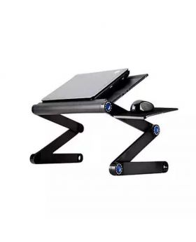Laptop Table Stand Multi Functional - Black