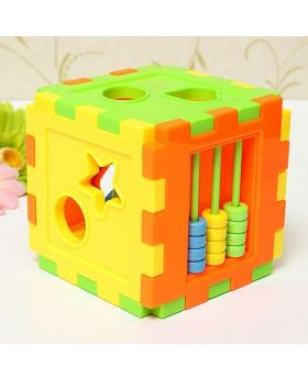 Vanker Colorful Child Gift Plastic Children Kid Puzzle Educational Building Blocks Toy