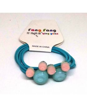 Fashionable Rubber Band for Baby - Blue