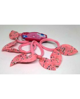 4pcs Set Rubber Band for Baby - Light Pink