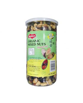 Nuttos 400gm Organic mixed nuts