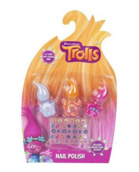 Dreamworks Trolls Nail Polish Set - Multi-color