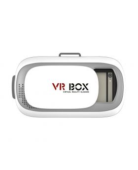 VR BOX Play Virtual Reality 3D Glasses - White
