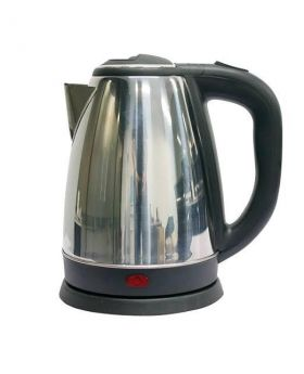 Stainless Steel Hot Water Pot Portable Boiler Tea Coffee Warmer Heater Cordless Electric Kettle-1.8 L