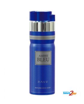 Rave - Body Spray - 200ML - Ambre Bleu(M)
