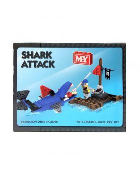 Shark Attack Block Set - Blue