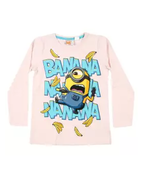 Seashell Cotton Long Sleeve T-shirt For Boys