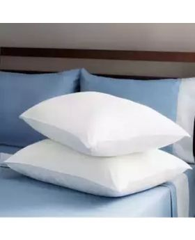 2 Pcs Head Pillow Set(White Color)