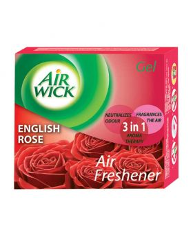 Airwick English Rose Air Freshener Gel 50 gm (5 Combo Pack)