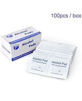 Skin Cleaning Care First Aid Alcohol Pad 2-Box Combo