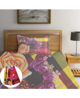 China 100% Cotton Single Bedsheet-ASHA041