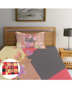 2L Cloth Semi double 100% Cotton Bedsheet-ASHA046