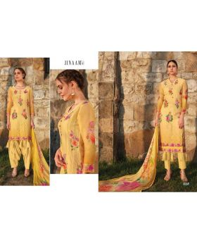 Organdi Printed With Embroidery Salwar Kameez