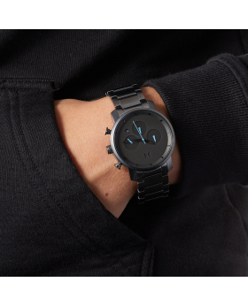 Black MVMT Analog Wrist Watch