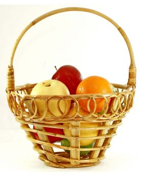 Fruit Basket (Round shaped with spiral design)