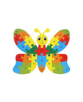 Puzzles Wooden owl rooster butterfly Jigsaw for kids