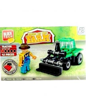 Block Tech Down on The Farm Toy