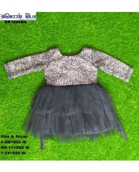 Baby party dress ( black color )