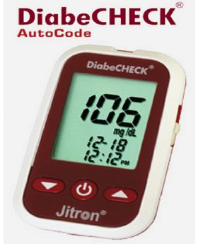 Diabe CHECK Blood-Glucose Monitoring System Auto-Code