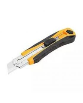 Snap-Off Blade Knife 2 - Black And Yellow